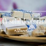 Deodorante solido DIY